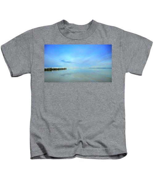 Morning Sky Reflections Kids T-Shirt