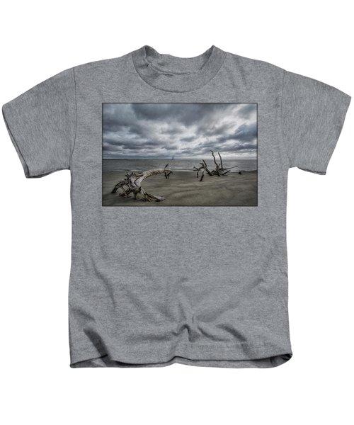 Morris Island Lighthouse Kids T-Shirt