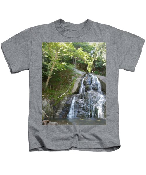 Mose Glenn Falls Granville Vt. Kids T-Shirt