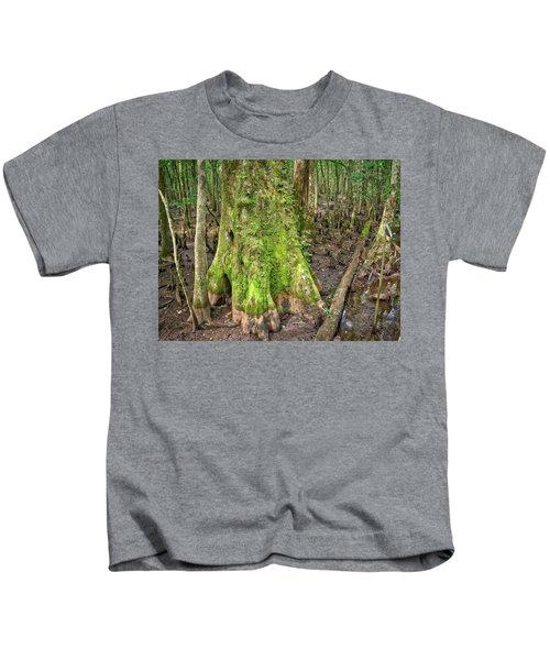 Mossy Cypress Kids T-Shirt
