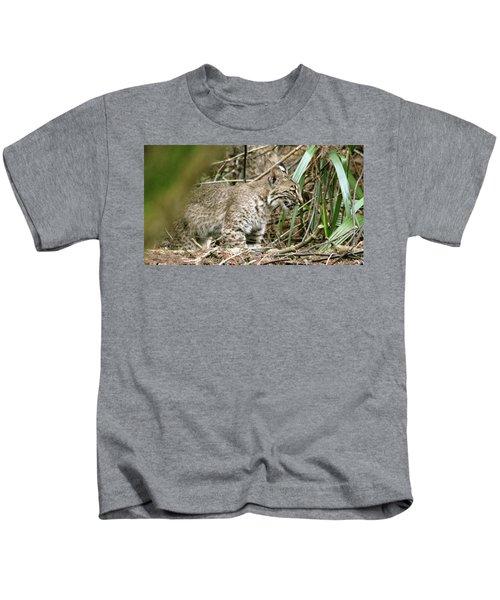 Mother Bobcat Kids T-Shirt