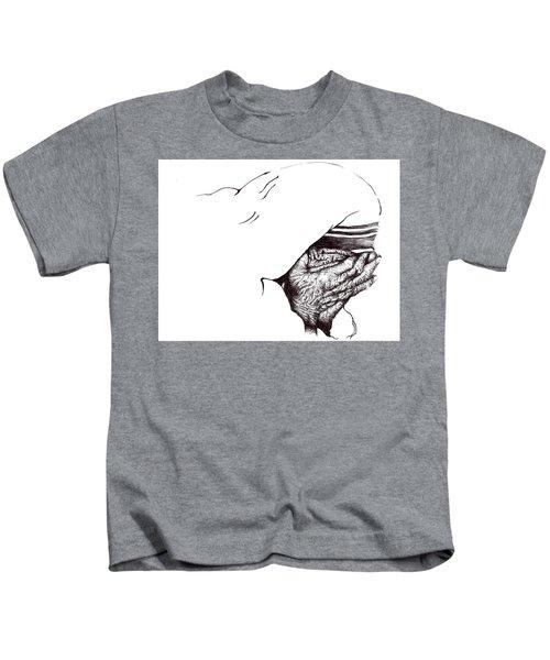 Mother Teresa-pray Today Kids T-Shirt