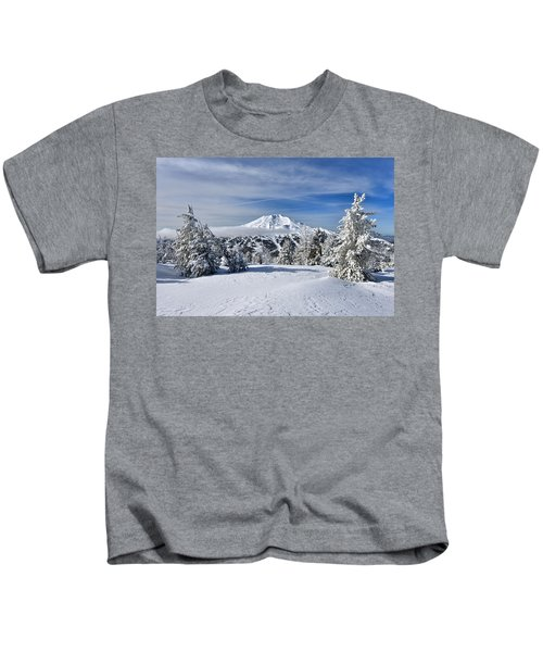 Mount Bachelor Winter Kids T-Shirt