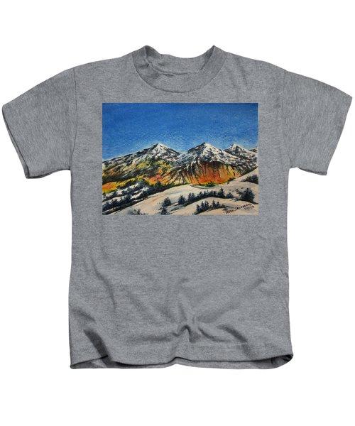 Mountain-5 Kids T-Shirt
