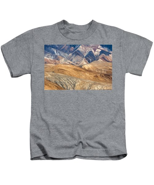 Mountain Abstract 4 Kids T-Shirt