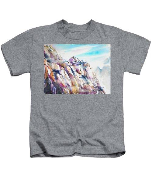 Mountain Awe #1 Kids T-Shirt