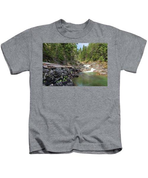Mountain Cascade Kids T-Shirt