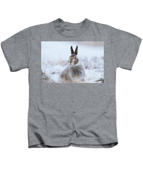 Mountain Hare - Scotland Kids T-Shirt