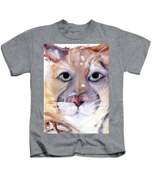 Mountain Lion Kids T-Shirt