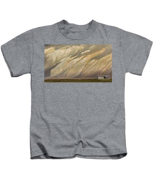 Mountain Patterns, Padum, 2006 Kids T-Shirt