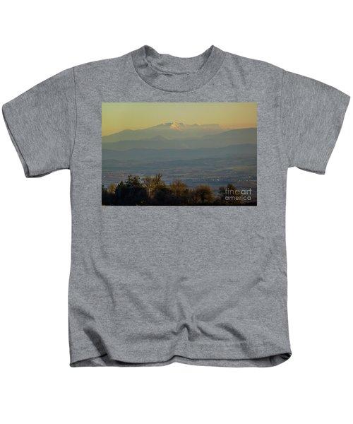 Mountain Scenery 8 Kids T-Shirt
