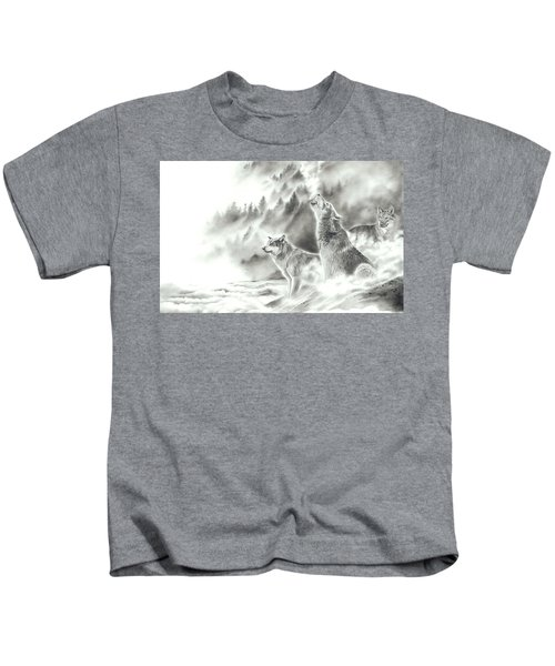 Mountain Spirits Kids T-Shirt