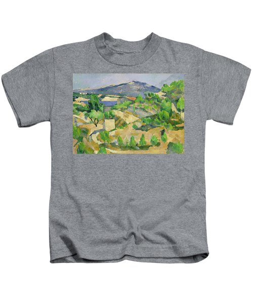 Mountains In Provence Kids T-Shirt