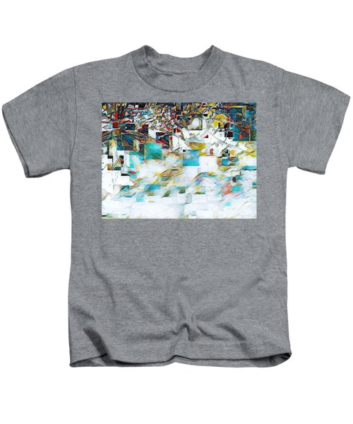 Snowy Mountains Kids T-Shirt