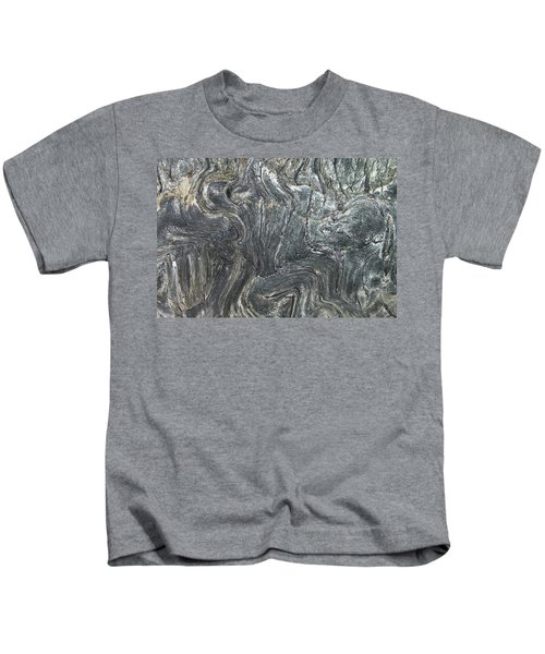Movement In The Earth Kids T-Shirt