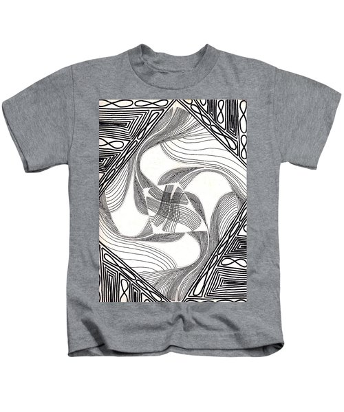 Moving Lines Kids T-Shirt