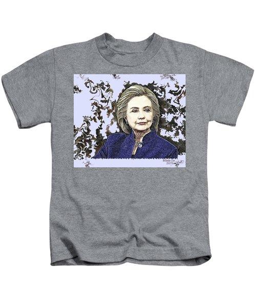 Mrs Hillary Clinton Kids T-Shirt