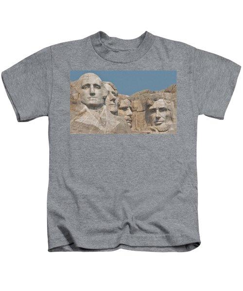 Mt. Rushmore Kids T-Shirt