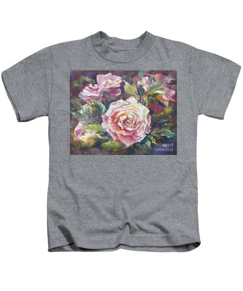 Multi-hue And Petal Rose. Kids T-Shirt