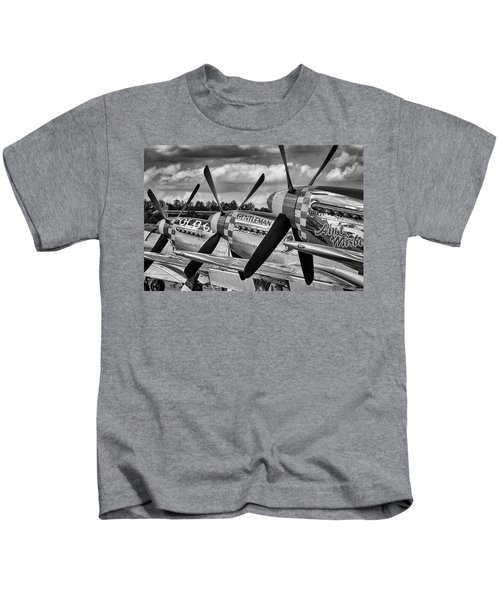 Mustang Row Kids T-Shirt