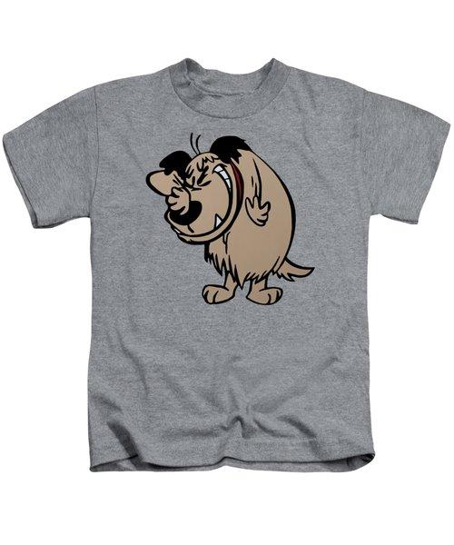Muttley Kids T-Shirt by Ian King