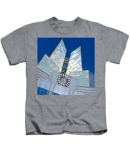 My Favorite #building In #myhometown Kids T-Shirt