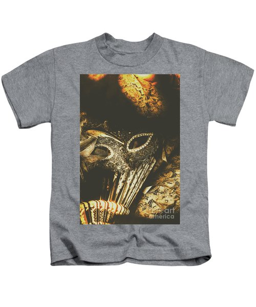 Mysterious Disguise Kids T-Shirt