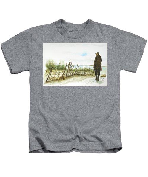 Napatree Point Watch Hill, Ri Kids T-Shirt