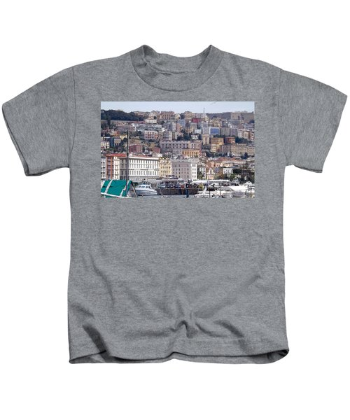 Naples In The Spring Kids T-Shirt