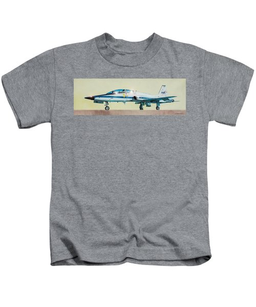 Nasa T-38 Talon Kids T-Shirt