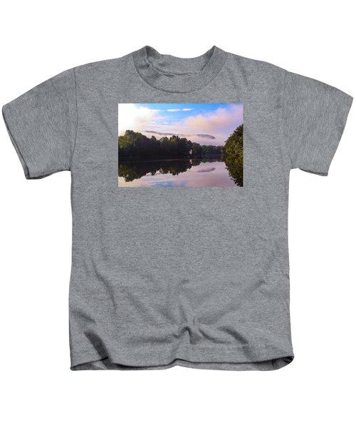 Nashawannuck Pond, Easthampton, Ma Kids T-Shirt