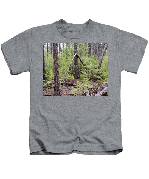 Natural Peace In The Woods Kids T-Shirt