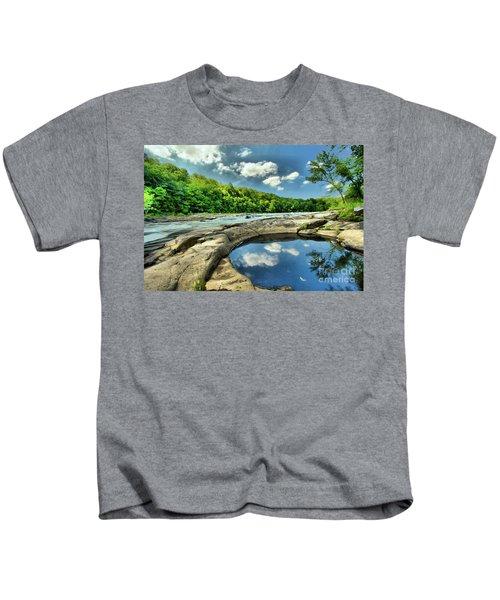 Natural Swimming Pool Kids T-Shirt