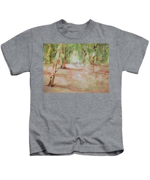 Nature At The Nature Center Kids T-Shirt