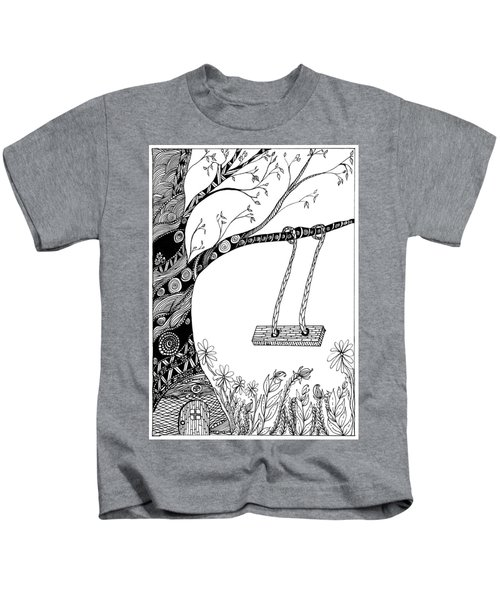 Nature Is Calling Come Out And Play Kids T-Shirt