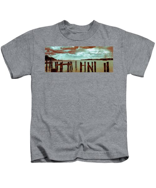 Naval Academy Sailing School Kids T-Shirt