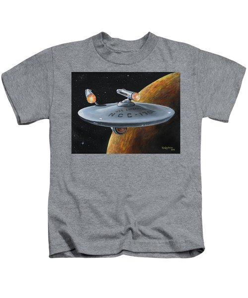 Ncc-1701 Kids T-Shirt
