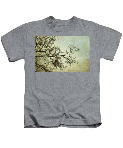 Nearly Bare Branches Kids T-Shirt