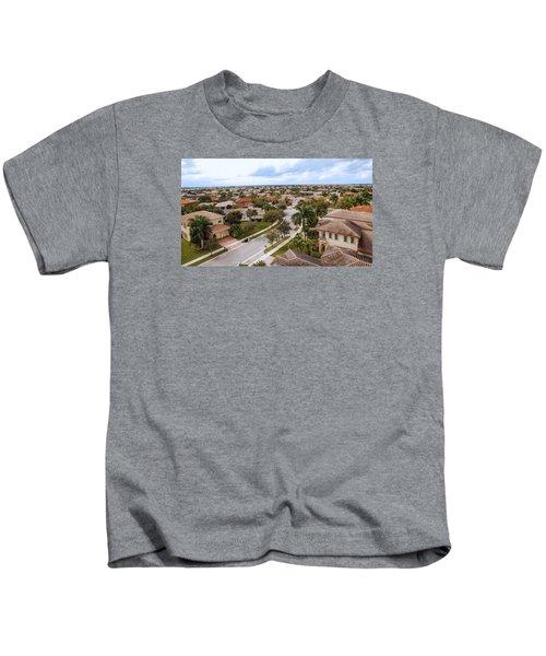 Neighborhood Aerial Kids T-Shirt