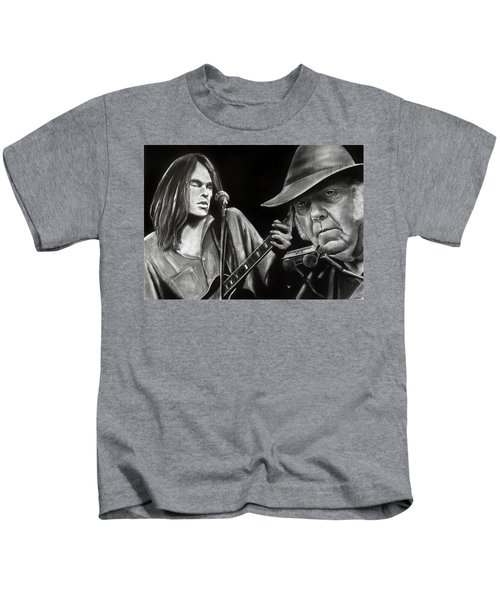 Neil Young And Neil Old Kids T-Shirt