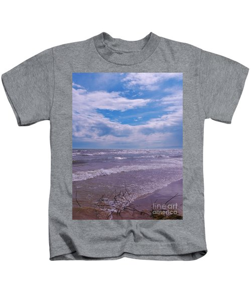 Neshotah Beach 3 Kids T-Shirt