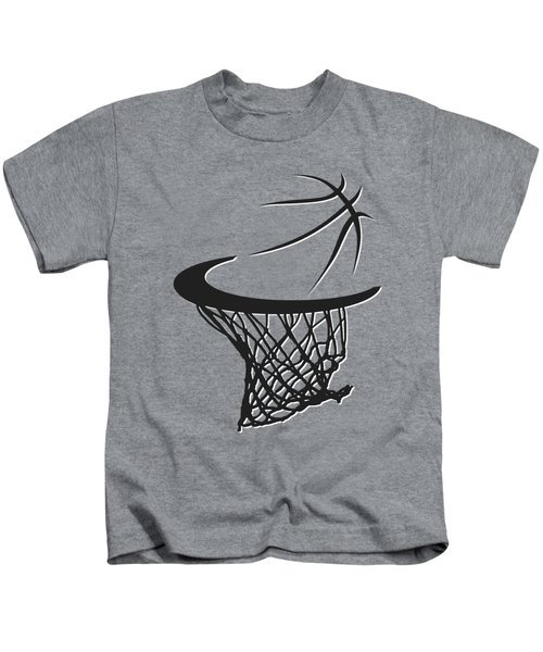 Nets Basketball Hoop Kids T-Shirt