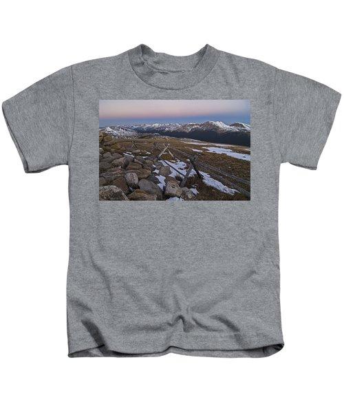 Never Summer Range Kids T-Shirt