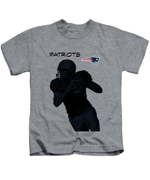 New England Patriots Football Kids T-Shirt