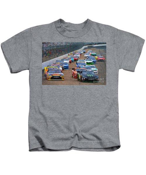 New Hampshire Speedway  Kids T-Shirt