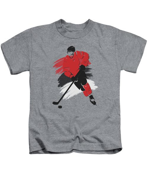 New Jersey Devils Player Shirt Kids T-Shirt