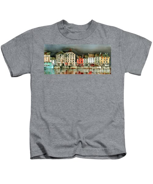 New Ross Quays Panorama Kids T-Shirt