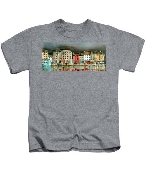 New Ross Quays Panorama Kids T-Shirt