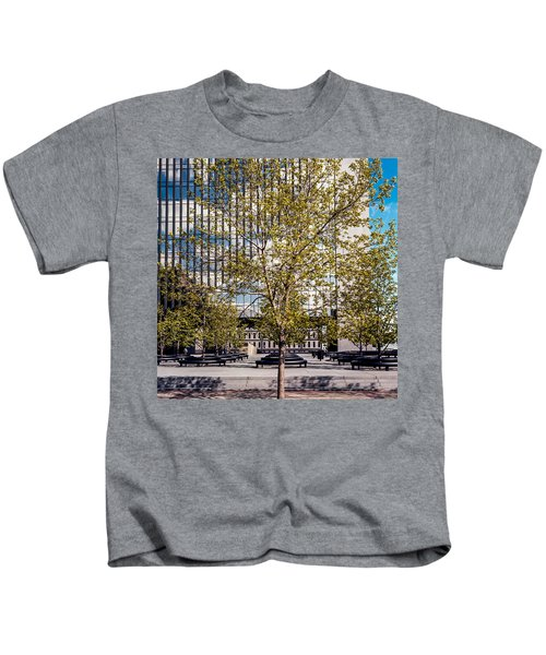 Trees On Fed Plaza Kids T-Shirt