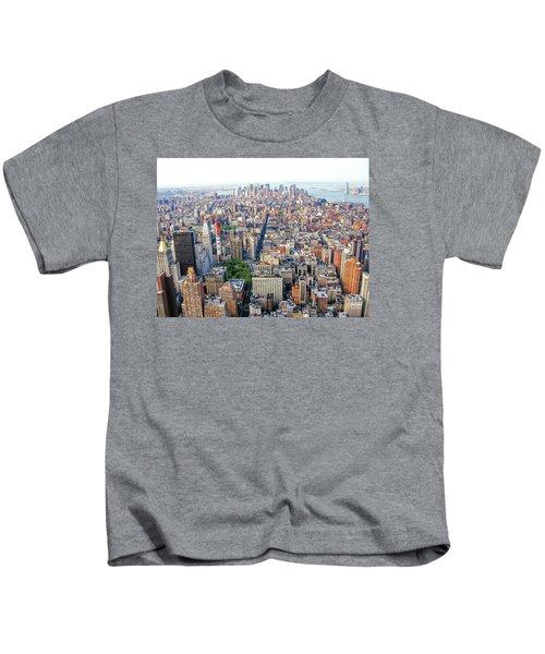 New York Aerial View Kids T-Shirt